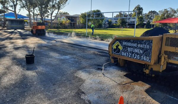 Bitumen Revamping of School Basketball Court and Playground Areas (2)